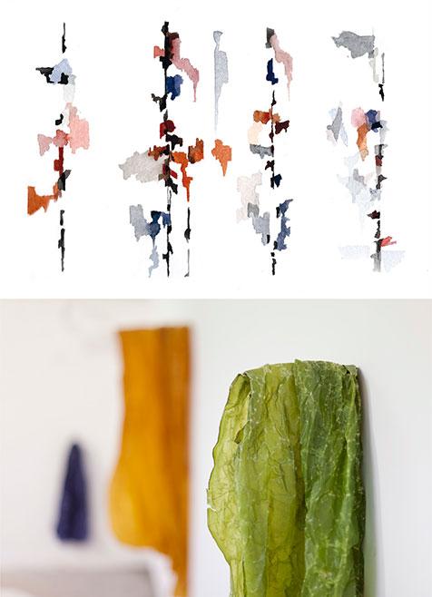 Asaf Heimeiri | Anna Schapiro | Galerie Mollwo 2017