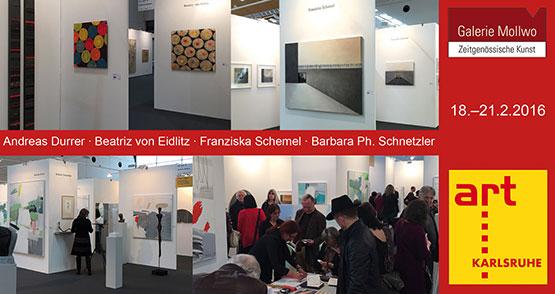 Galerie Mollwo Art Karlsruhe 2016